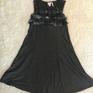 Justice Girl's Dress with Ruffle Detail